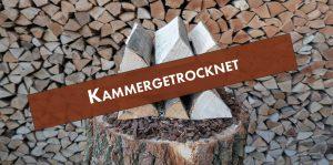 Getrocknetes Brennholz