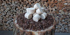 Holzbriketts der Lebenshilfe Remscheid
