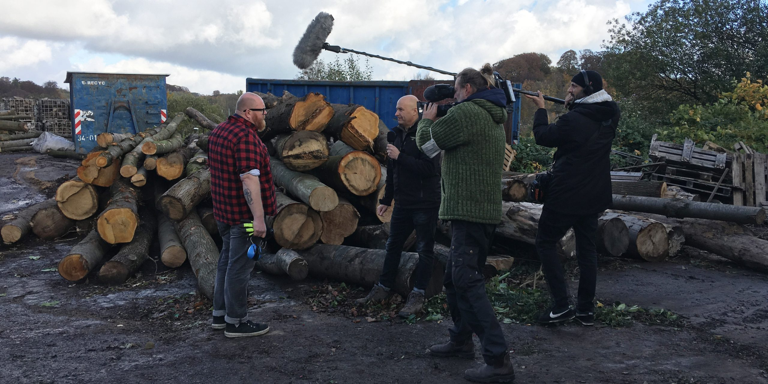 WDR besucht den Holzenergiehof
