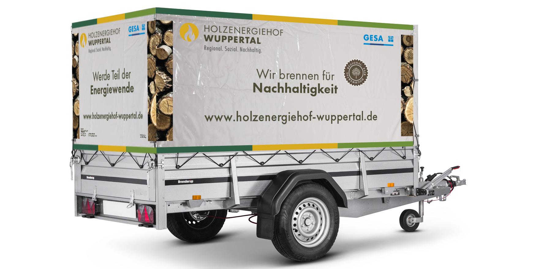 Holzenergiehof - Anhänger